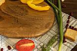 Доска ореховая «Камушек» L, фото 3