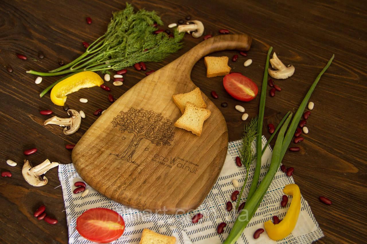 Доска ореховая «Топорик» L