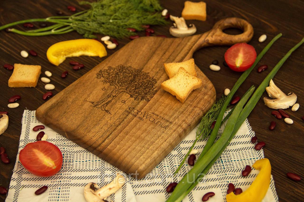 Доска ореховая «Изгиб» L