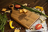 Доска ореховая «Изгиб» L, фото 2