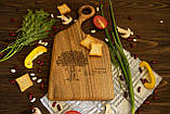 Доска ореховая «Изгиб» L, фото 3