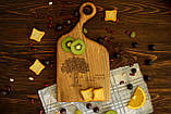 Доска ореховая «Изгиб» L, фото 4