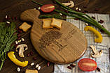 Доска ореховая «Матрешка» L, фото 2
