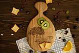 Доска ореховая «Матрешка» L, фото 6