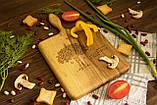 Доска ореховая «Симметрия» M, фото 4