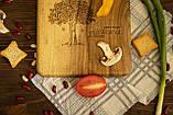 Доска ореховая «Симметрия» L, фото 4