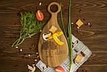 Доска ореховая «Лопатка» M, фото 2