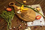 Доска ореховая «Лопатка» M, фото 4