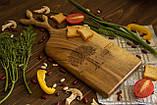 Доска ореховая «Веточки» L, фото 2
