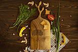 Доска ореховая «Веточки» L, фото 4