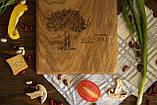 Доска ореховая «Рога» M, фото 4