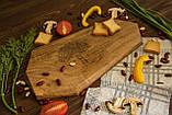 Доска ореховая «Грани» L, фото 2
