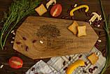 Доска ореховая «Грани» L, фото 4