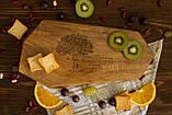 Доска ореховая «Грани» L, фото 5