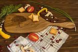 Доска ореховая «Весло» M, фото 2