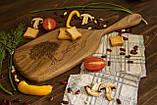Доска ореховая «Весло» M, фото 4