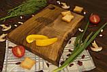 Доска ореховая «Живой край» L, фото 2