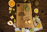 Доска ореховая «Живой край» L, фото 4
