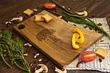 Доска ореховая «Живой край» L, фото 6