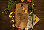 Доска ореховая «Поле» M, фото 5
