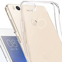Чехол для Xiaomi Mi 4i, прозрачный, силикон