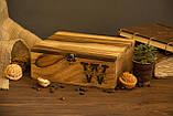 Коробочка для часов с деревянной крышкой 6, фото 3