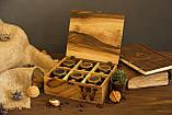 Коробочка для часов с деревянной крышкой 6, фото 4