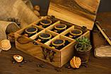 Коробочка для часов с деревянной крышкой 6, фото 5
