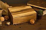 Коробочка для часов с деревянной крышкой 6, фото 7