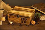 Коробочка для часов с деревянной крышкой 6, фото 9