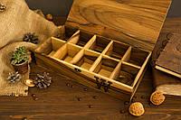 Коробочка для часов с деревянной крышкой 10