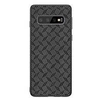 Накладка для Samsung G975 Galaxy S10 Plus Nillkin Synthetic Fiber Case Black
