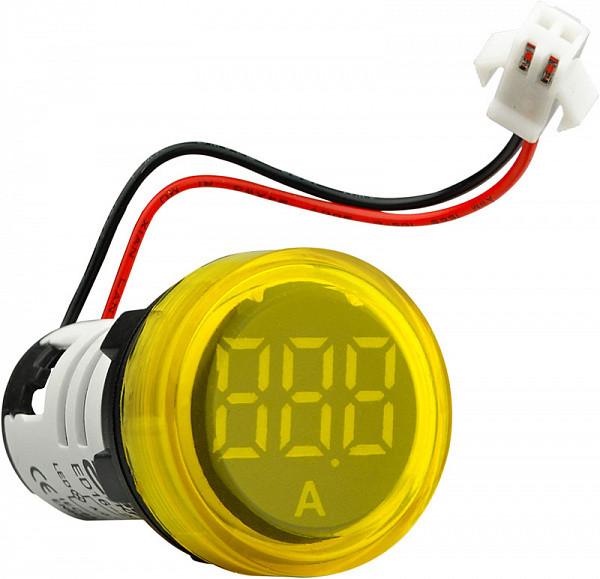 Вольтметр ED16-22VD, жовтий 30-500В АС, АсКо, A0190010018