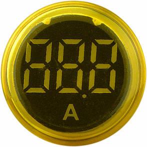 Вольтметр ED16-22VD, жовтий 30-500В АС, АсКо, A0190010018, фото 2