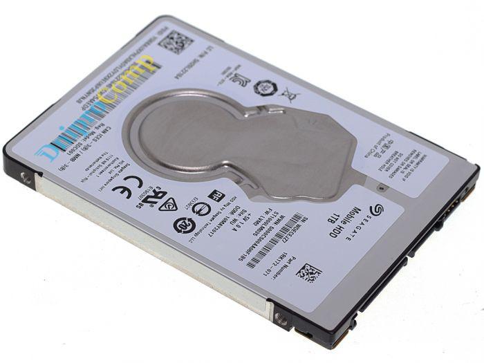 "Жёсткий диск 2.5"" SEAGATE Mobile 1TB SATA/128MB (ST1000LM035)"