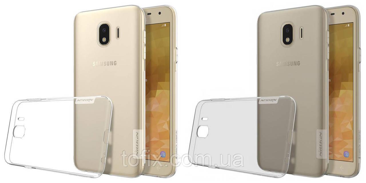 Чехол для Samsung Galaxy J4 J400 (2018) - Nillkin Nature TPU Case, Ultra Slim, силикон