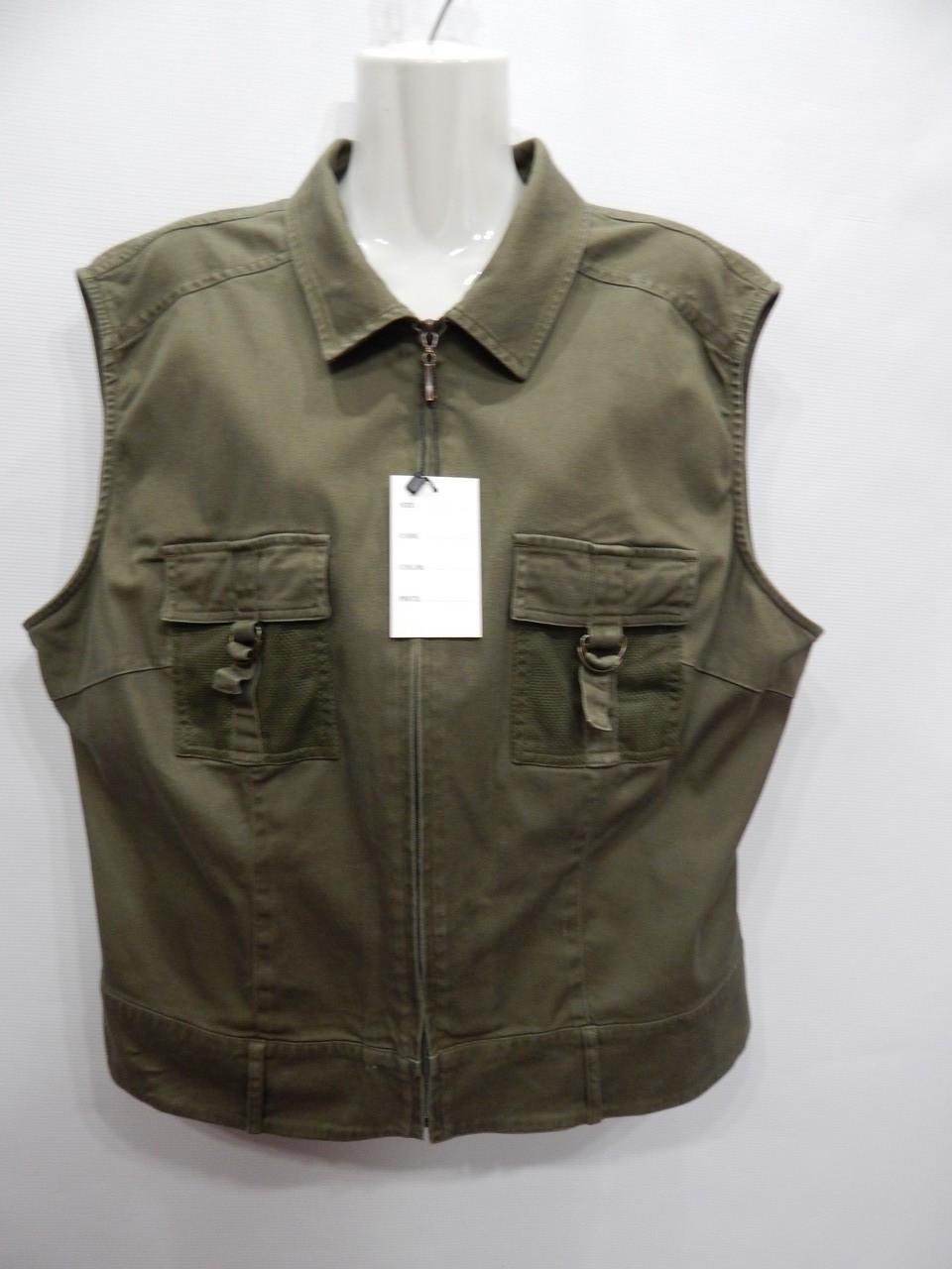 Жилет cotton плотный женский M&S MODE р.62-64, EUR 50 001GG