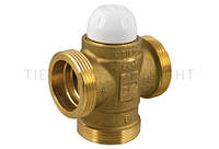 "Клапан термостатический трехходовой (DN25) Tiemme 1""1/4 резьба внешняя / внешняя  ( 4500515)"