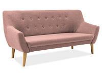 Прямой диван Signal Nordic 3 Розовый (NORDIC3CABLO12)