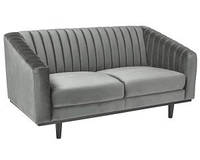 Прямой диван Signal Asprey 2 150х78 см Серый (ASPREY2VSZ14)