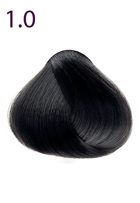 Стойкая крем-краска для волос Максимум Цвета серии Expert Color, тон 1.0 Черный