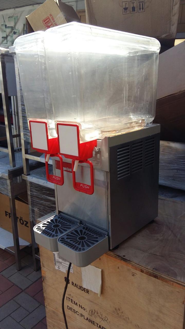 Сокоохладитель Ugolini COMPACT 8/2 на 2 емкости  по 8 литров б/у Италия