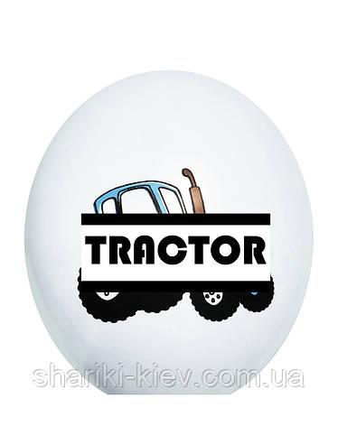 Гелиевый шарик Трактор, фото 2