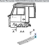 Облицовка порога двери левая 5320-5101257, фото 2
