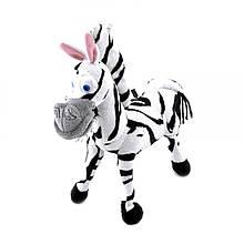 Музыкальная мягкая игрушка Мадагаскар зебра Марти