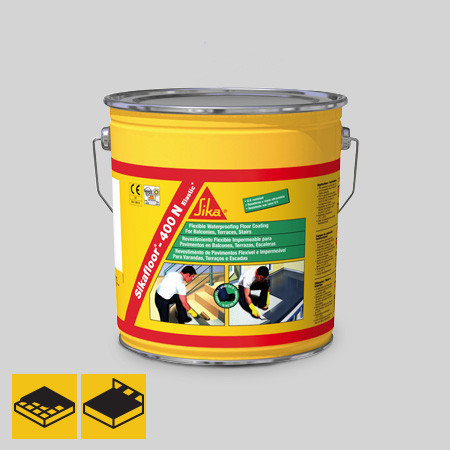 Sikafloor®-400 N Elastic - однокомпонентное полиуретановое эластичное покрытие