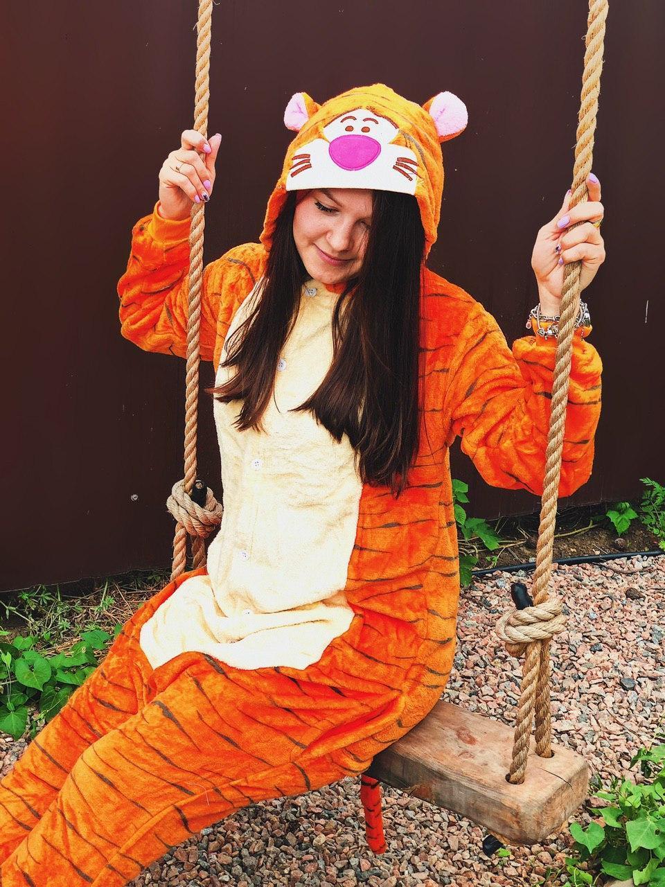 Кигуруми  Тигр   Для взрослых и детей