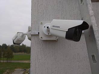 Встановлення відеоспостереження Hikvision 5МП, бійня м.Шкло 3