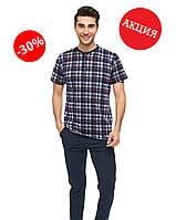 Пижама мужская штаны и футболка, S, M, L, XL, Cotpark