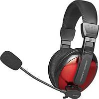 Наушники игровые XTRIKE ME Gaming HP-307, черно-красные